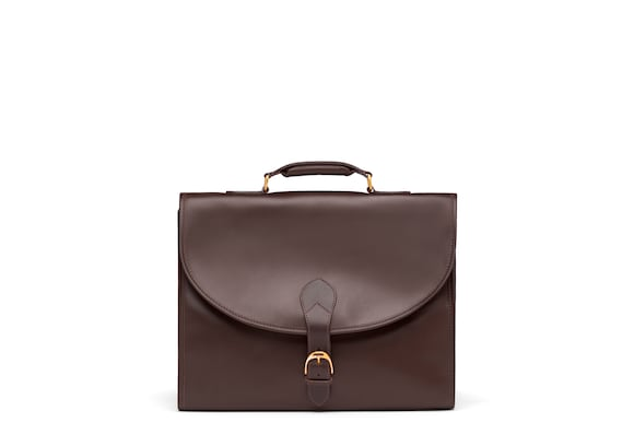 Briefcase in Bovine Leather