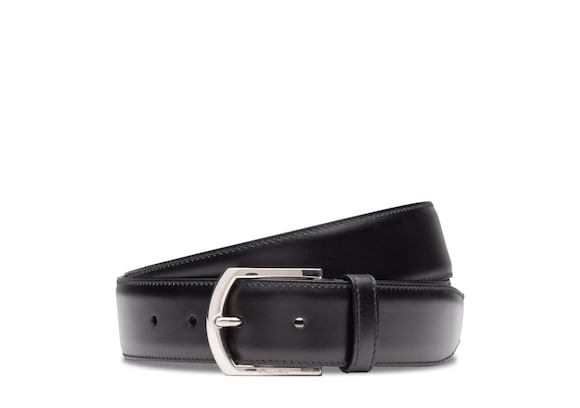 Classic buckle belt Church's Calf Leather Black