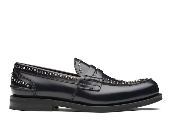 Polished Binder Loafer  Stud