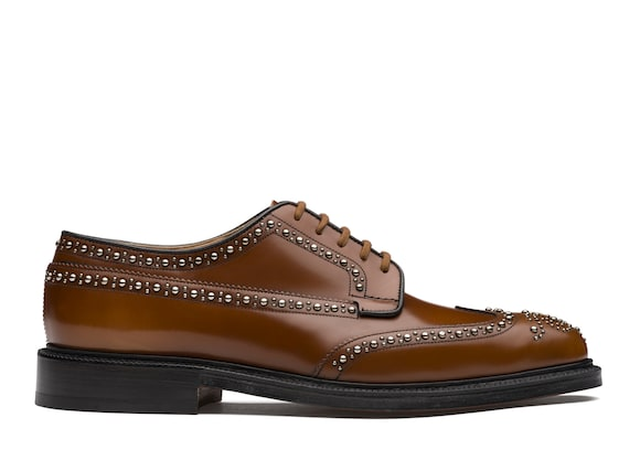 Polished Binder Derby Brogue  Stud
