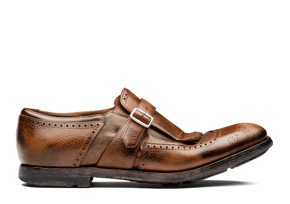 Country Calf and Glacè Buckle Loafer