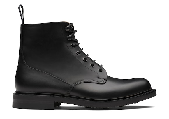 Mc duff 3 Church's Calf Leather Lace-Up Boot Black