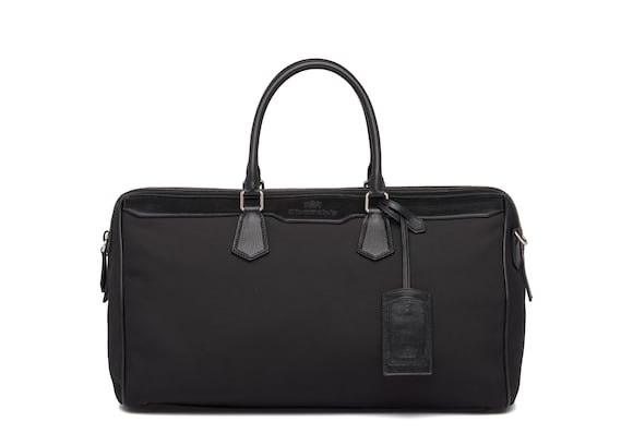 St James Leather Tech Weekend Bag